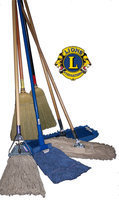 Image: Italy Lions Club Broom and Mop Sale — Note: Brooms and Mops offered for sale may not be same as those shown.
