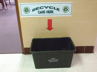 Image: Recycling bin for cans — Lets fill it up!