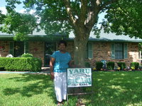 "Image: Mary Copeland — Mary Copeland is honored to have her yard chosen as ""Yard of the Month"""