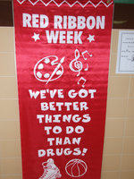 Image: Red Ribbon week — There are better things to do than drugs.