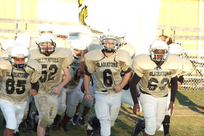 Image: 8th grade Gladiators — Here they come!