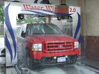 Image: The Water Wizard 2.0 is available at the C5 Hyles Car Wash — C5 Hyles Car Wash owners Christie & Charles Hyles are introducing the new Water Wizard 2.0 touchfree automaic car washing system. The Water Wizard is fully operational and ready to clean your truck or car!