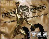 Image: IYAA Basketball Trophy Day Saturday, March 27, 10:00 a.m. – 2:00 p.m. — IYAA players and coaches are invited to stop by the Game On Athletics grand opening in Italy on Saturday, March 27 between 10:00 a.m. – 2:00 p.m. at which time basketball trophies and coaches plaques will be passed out.