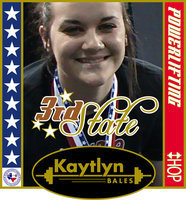 Image: Kaytlyn Bales wins 3rd place at the state powerlifting meet — Italy High School's Kaytlyn Bales improved from a 5th place state ranking in 2009 to a 3rd place finish at the Texas High School Women's Powerlifting Association's State meet in Corpus Christi this season.