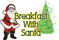 "Image: December 5: 7:00am – 10:00am — Come join in the fun at the annual Italy Lions Club's ""Breakfast with Santa."""