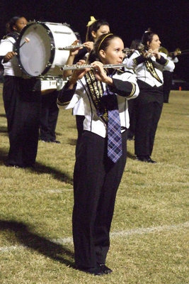 Image: Tess Clark — There are many talented band members at IHS and Tess is one of them.