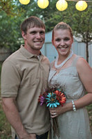Image: Sarah and Drew Fulfer were married right after graduation from Angelo State University.