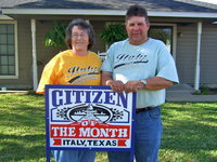 Image: Karen and Brian Mathiowetz are very proud to be selected as Citizens of the Month