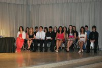 Image: 2012 National Junior Honor Society, Italy Chapter, Inductees