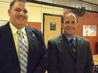 Image: Blake Godwin and William Braswell are two of the newest personnel at IHS for the 2012-2013 school year.