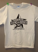 "Image: Guns vs. Hoses T-shirts are available at the Italy Police Department for $15.00 with all proceeds going to the ""Shop with a COP"" program."