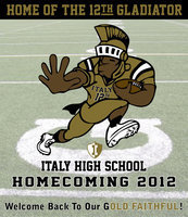 Image: Italy's Homecoming Game will be Friday, October 19, starting @ 7:30 pm against Malakoff Cross Roads.