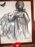 Image: Sketch drawn by Shelley in 2008