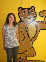 Image: Christie Hyles will be teaching second grade and can't wait to get started.
