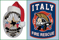 "Image: The Italy Police Department and Italy Fire Department have combined forces to start their own ""Shop with a Hero"" program. The program was established to build positive relationships between Police Officers, Firefighters and the children of the community. Community participation is needed and we hope you will be able to donate your time, money, or Wal-Mart gift cards to help make a child's Christmas special."
