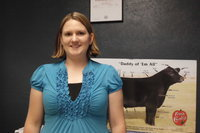 Image: Nichole Vajdak is excited to share her love of agriculture with her students.