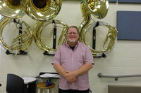 Image: David Graves loves his position as Assistant Band Director at Italy ISD.