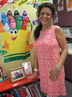Image: Jennifer Aguado is happy to be teaching pre-K again.