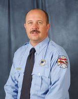 Image: This photo provided by the City of Bryan shows Lt. Gregory Pickard, who died in the line-of-duty Saturday, Feb. 16, 2013, during a lodge hall fire in Bryan, Texas, will posthumously receive the Star of Texas Award.