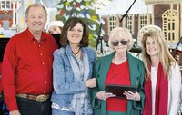 Image: The City of Italy honored local resident, Altha McNeely, on Saturday, December 6, 2014 at the annual Christmas parade and festival. Mrs. McNeely was chosen as this year's Grand Marshall for the Christmas parade and Mayor James Hobbs presented her with a Key to the City and proclaimed December 6, 2014 Altha McNeely Day. She was also the named Citizen of the Month.