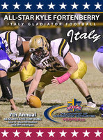 Image: Italy Gladiator Football's Kyle Fortenberry(66) to participate in the 7th Annual Fellowship of Christian Athletes Super Centex Victory Bowl All-Star game this summer in Waco. Fortenberry will be the 6th Gladiator to compete in the prestigious bowl game.