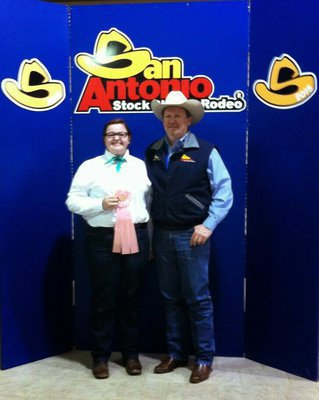Image: Alyssa Ballew of Midlothian placed 4th out of 538 in the senior horse judging division at the San Antonio Stock Show. She was literally 1 point away from a $10,000 scholarship!