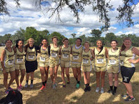 Image: The 2015 Italy lady Gladiator Cross Country Team advances to Regionals with Marlen Hernande, T'Keyah Pace, Brycelen Richards, April Lusk, Halee Turner, Hannah Haight, Jenna Holden, Britney Chambers, Ashlyn Jacinto, Madison Galvan and Reagan Jones representing Italy's JV and Varsity squads. Not pictured are Taylor Boyd, Janae Robertson and Lillie Perry.
