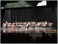 Image: The 2015-16 ATSSB Region 8 East Zone Middle School Band performs on Saturday, Jan. 16 at Groesbeck HS