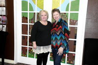 Image: Sharra Poteet, Clinic Director,  and Donna Young, CEO love the work they do at FirstLook.