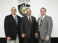 Image: Christopher Rizzuto, Lee Joffre and Eric Janszen are ready to lead Italy ISD