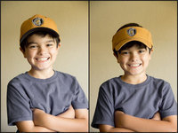 Image: *Old Gold Sports8 has adjustable Caps and Visors…grandson not included in offer. Order yours today at www.oldgoldsports.net.
