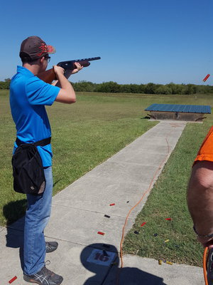 Image: Hinz placed second in shotgun and wildlife.