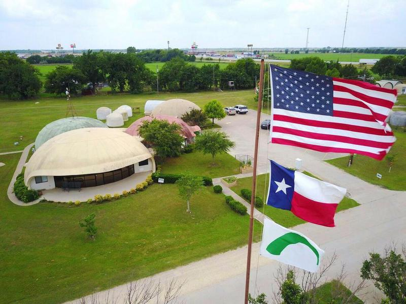 Image: Monolithic Headquarters — 177 Dome Park Place, Italy, Texas 76651 — 972/483-7423 — www.monolithic.com