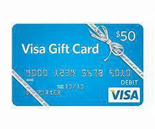 Image: Jackie Miller, Jr. donated the $50 Visa gift card.